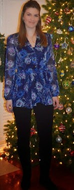 Tall Printed Blouse