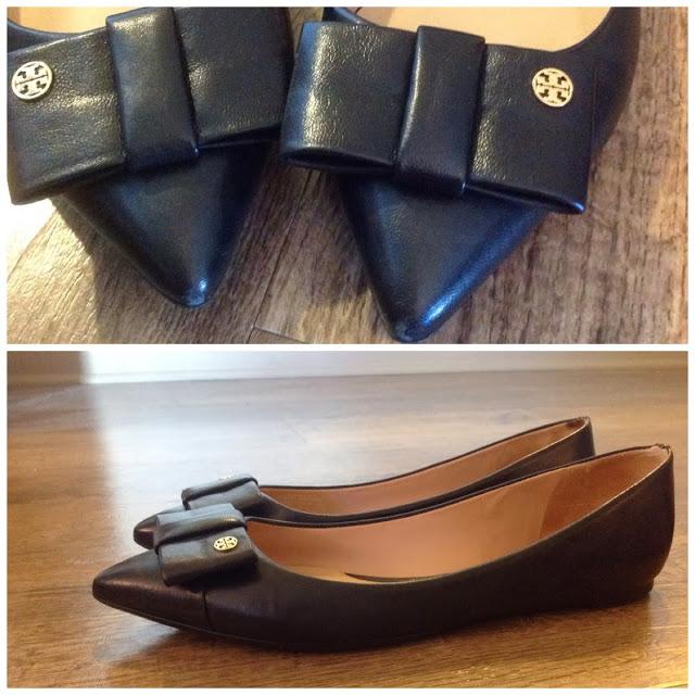 Pointy-Toe Black Flats