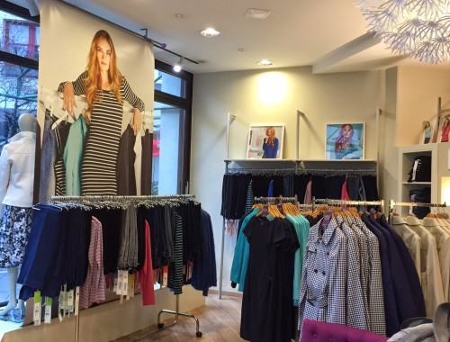 Inside of Long Tall Sally Store