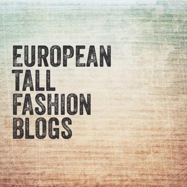 European tall fashion blogs