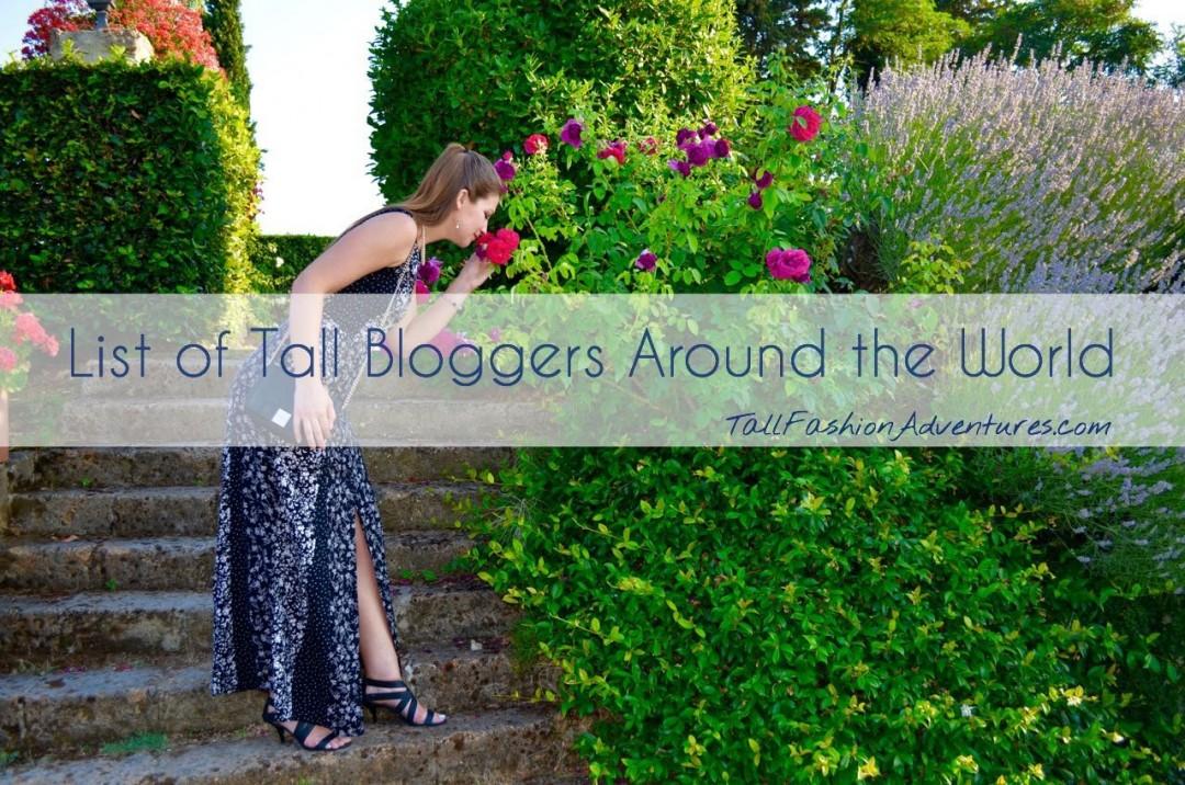 Tall fashion blogs around the world