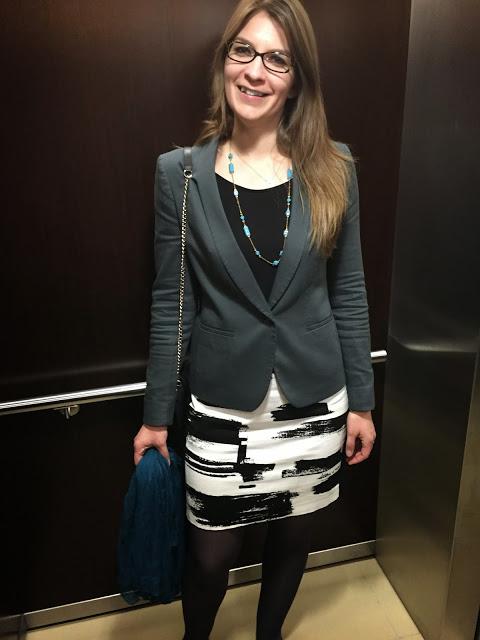 Ann Taylor Loft Skirt and Blazer