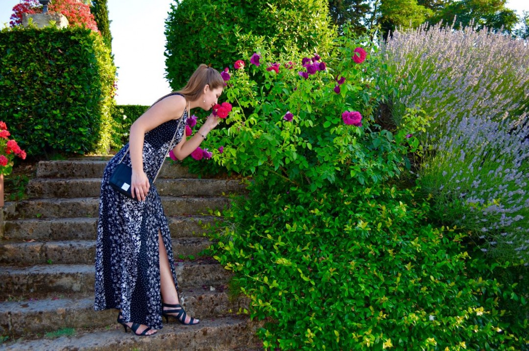 Tall Floral Maxi Dress