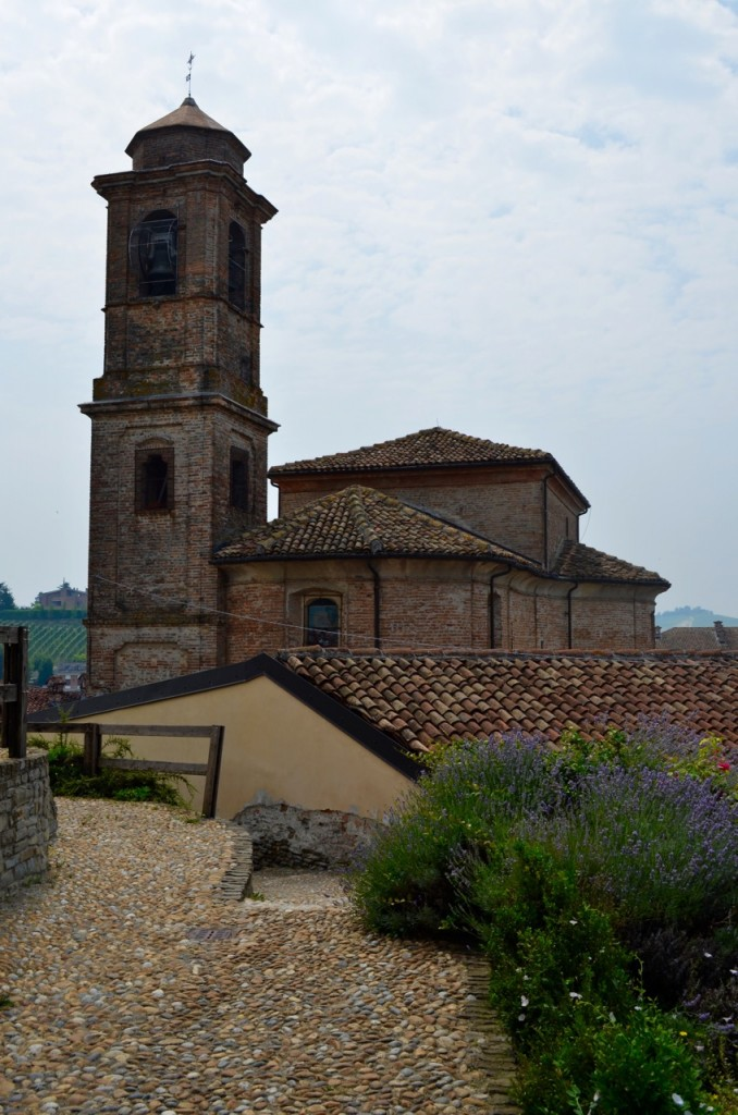 Barbaresco buildings lavender