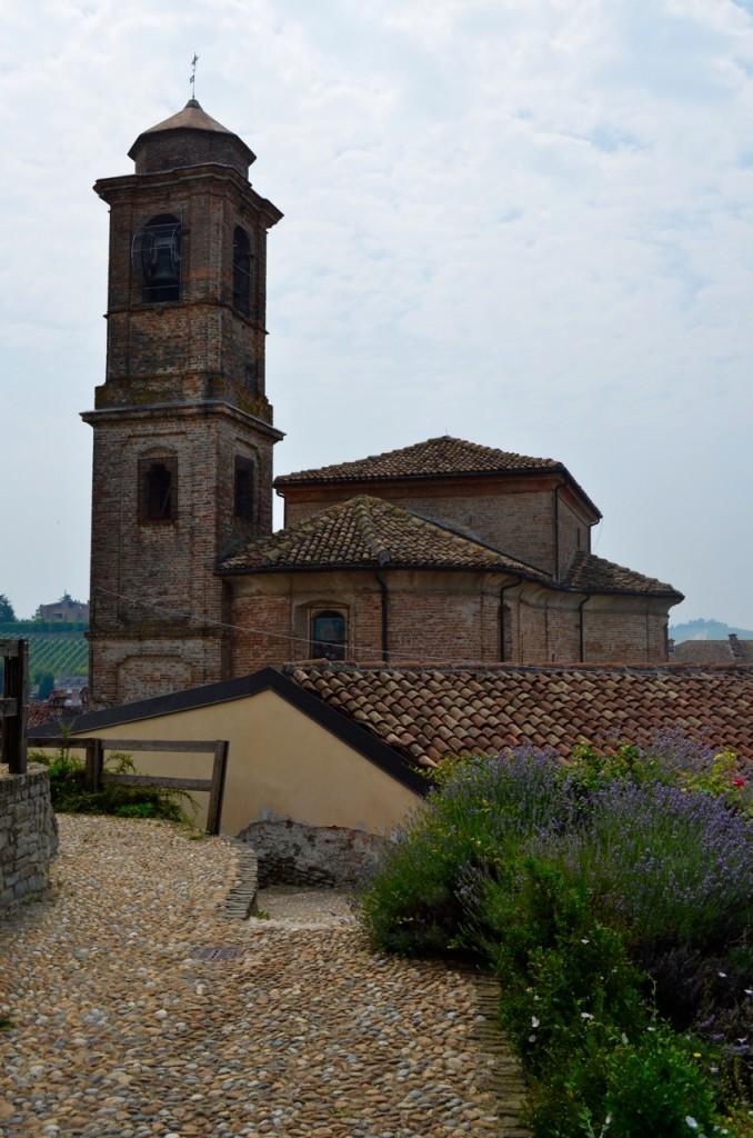 Barbaresco buildings lavender