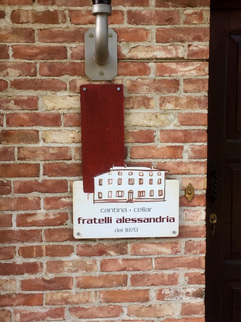 Visit to Fratelli Alessandria Wine Tour