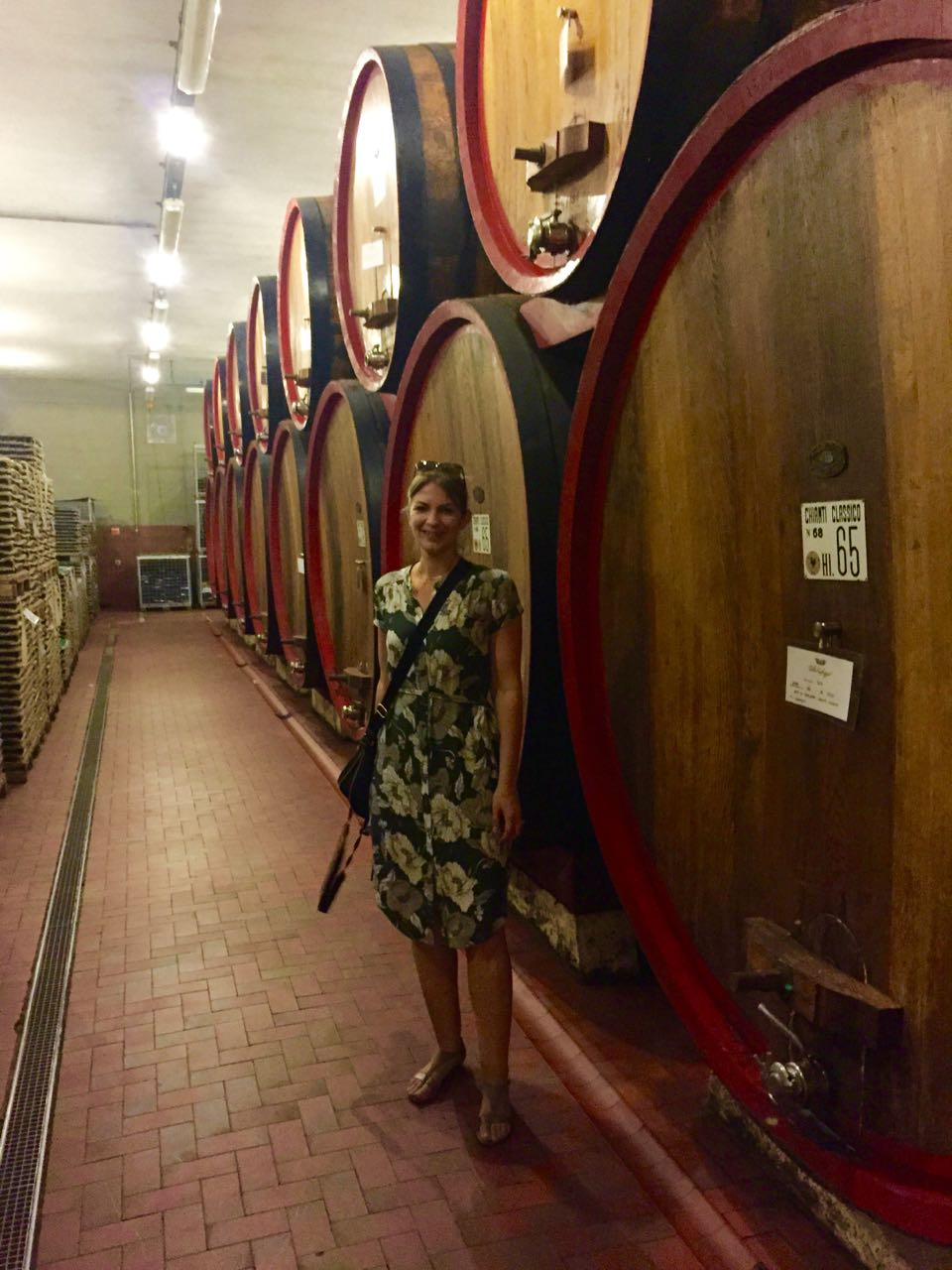 Villa Caffagio Wine Tasting