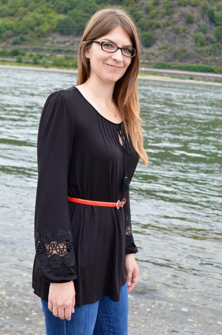 Long Tall Sally black tunic