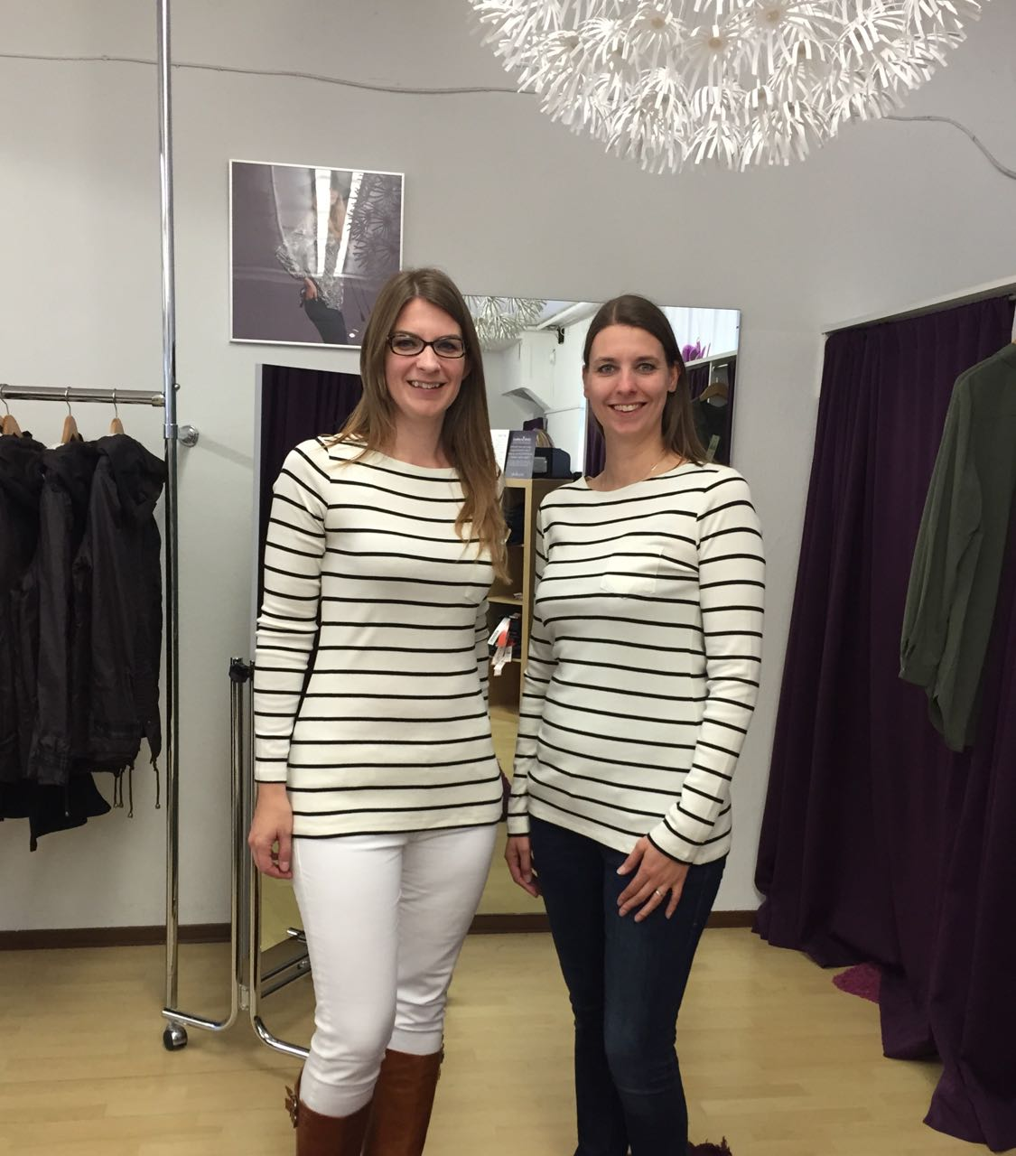 LTS tall breton stripe top