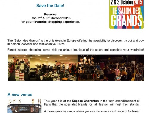Tall Event Paris Salon des Grandes