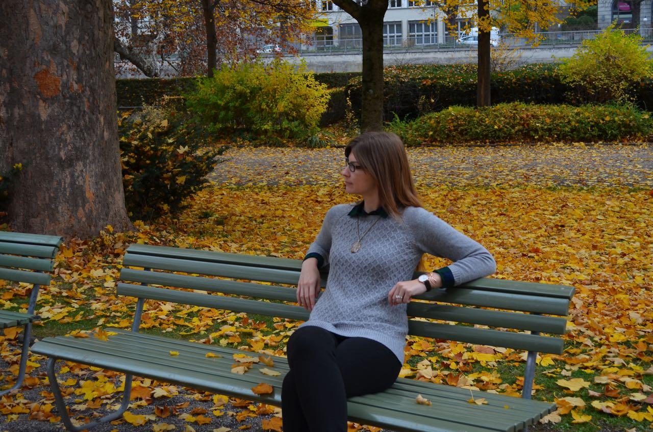Tall Gray Sweater
