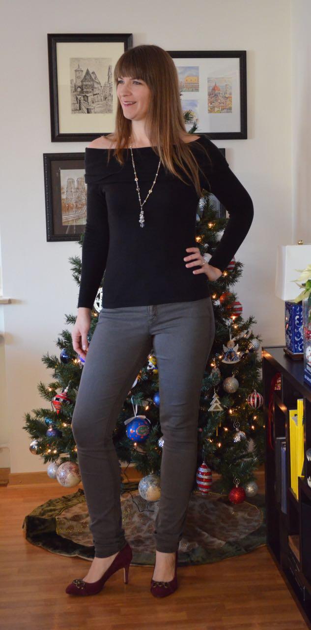 38 Inseam Gray Jeans