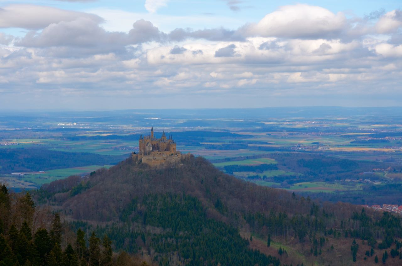 Hohenzollern Castle Lookout