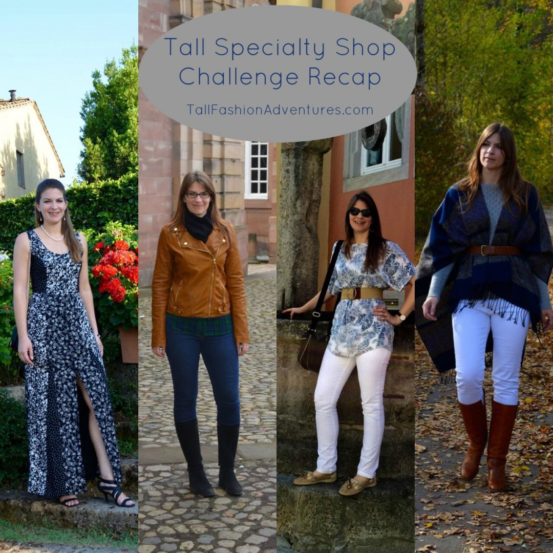 Tall Specialty Shop Challenge