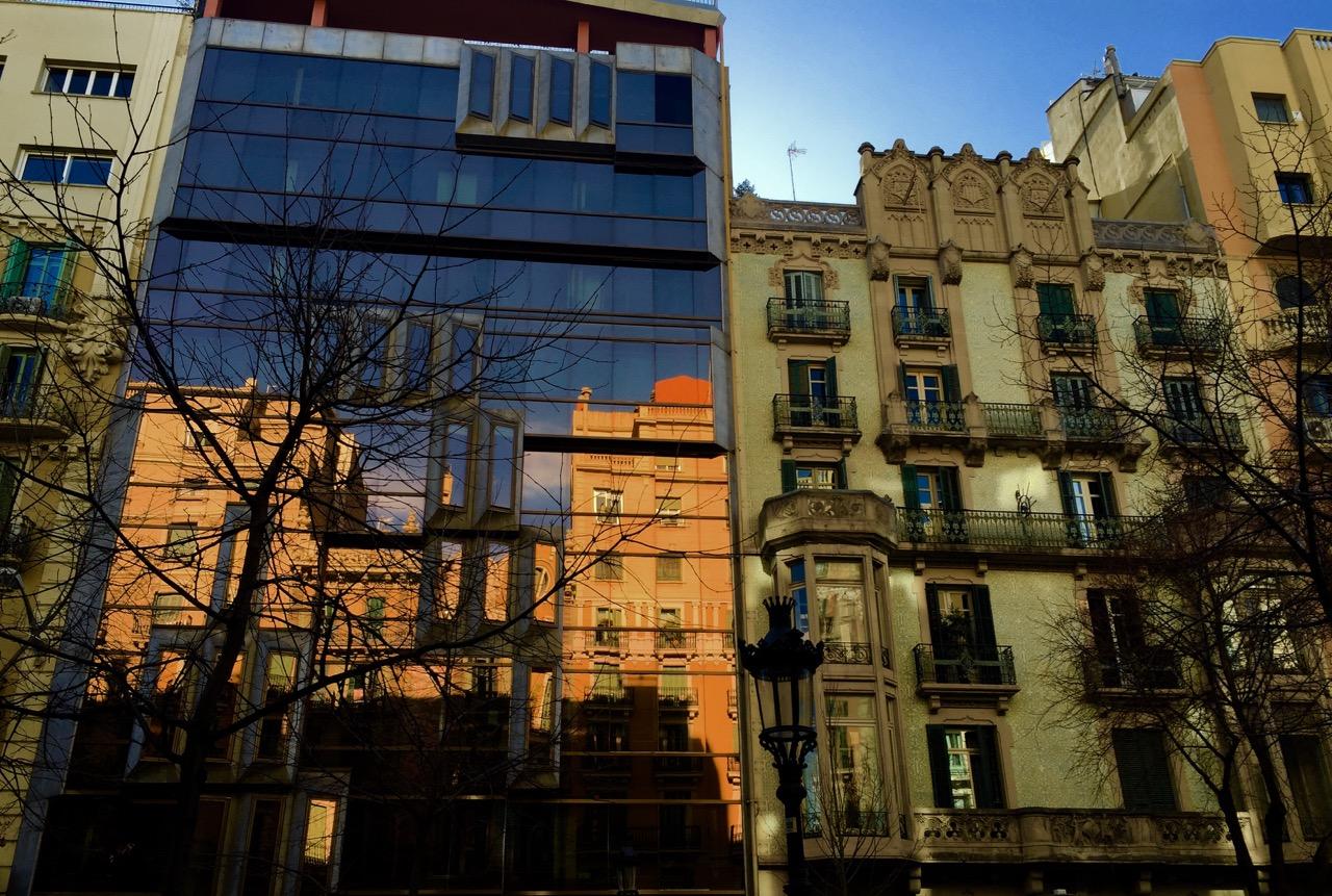 Barcelona Eixample architecture