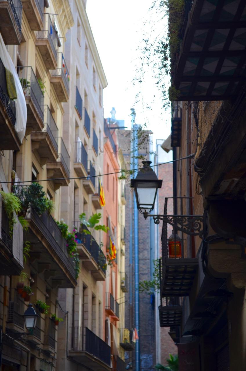 El Born Streets Barcelona