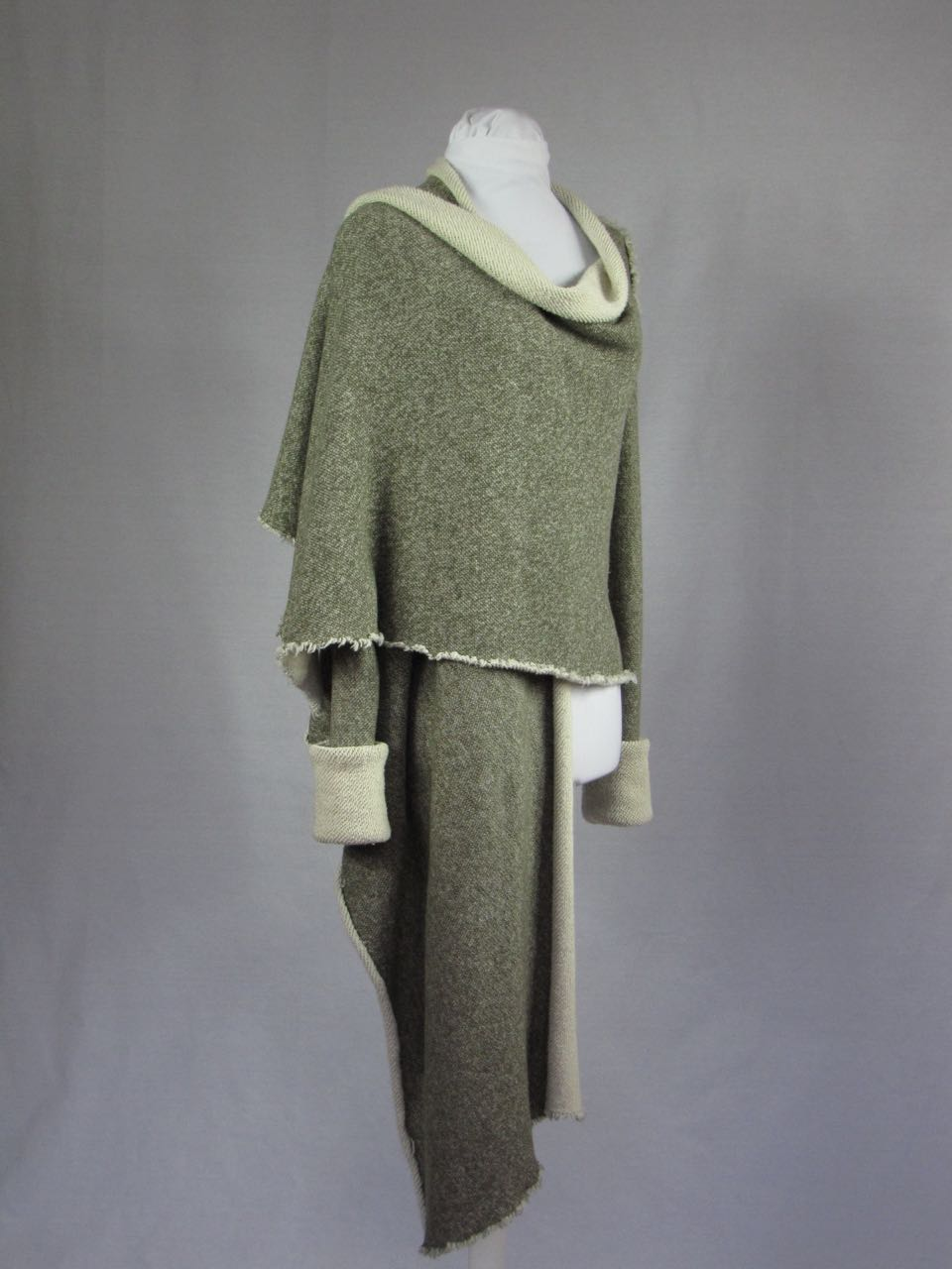 Tall cozy wrap jacket from new tall brand Diane Margaret