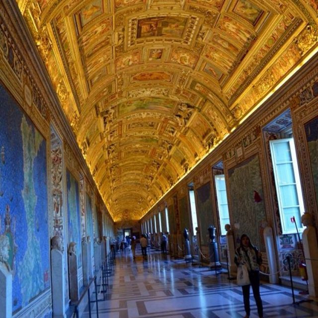 Early morning walk through an almost empty Vatican Worth thehellip