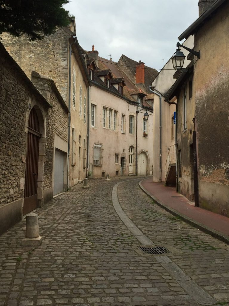 Quaint Beaune streets