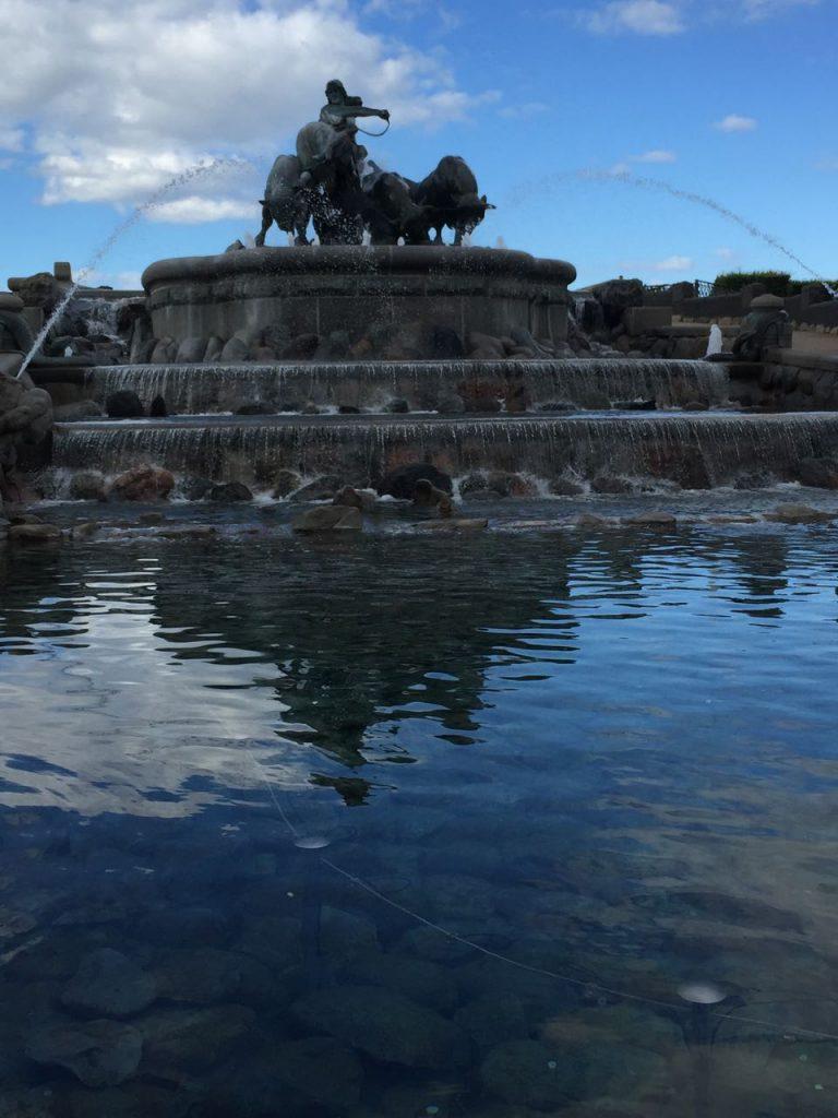 Copenhagen Kastellet Fountain