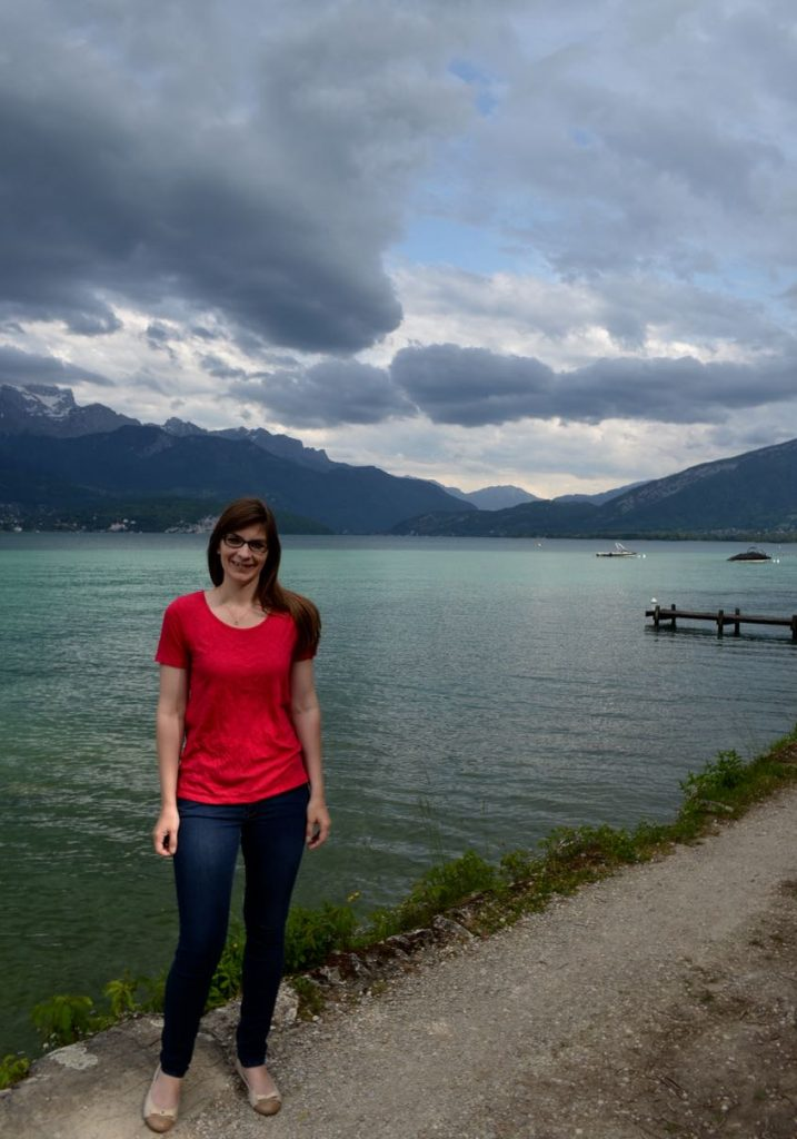 Walking around Lake Annecy
