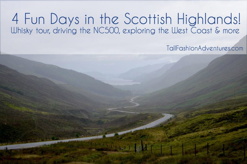 4 Day Trip in the Scottish Highlands