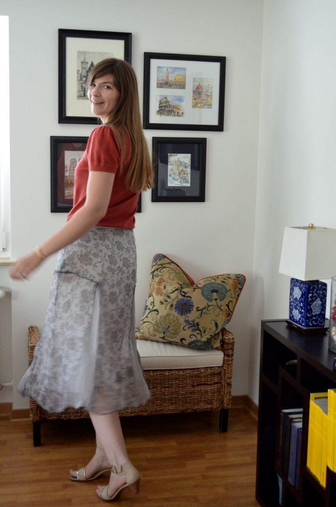 Elisa Cavaletti Midi Skirt
