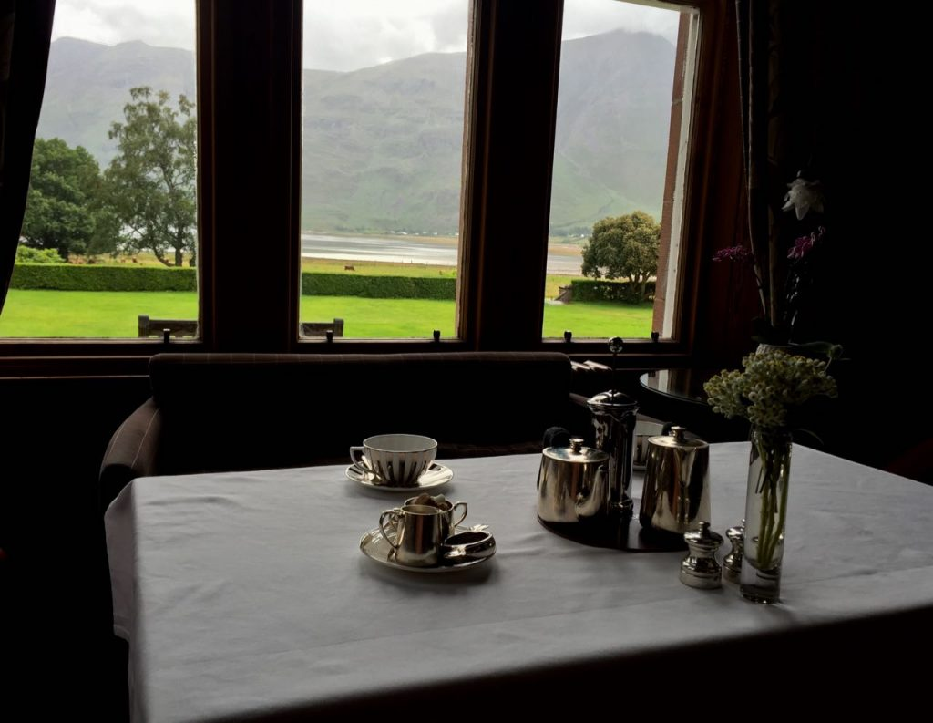 4 Days in the Scottish Highlands Afternoon Tea Torridon Hotel