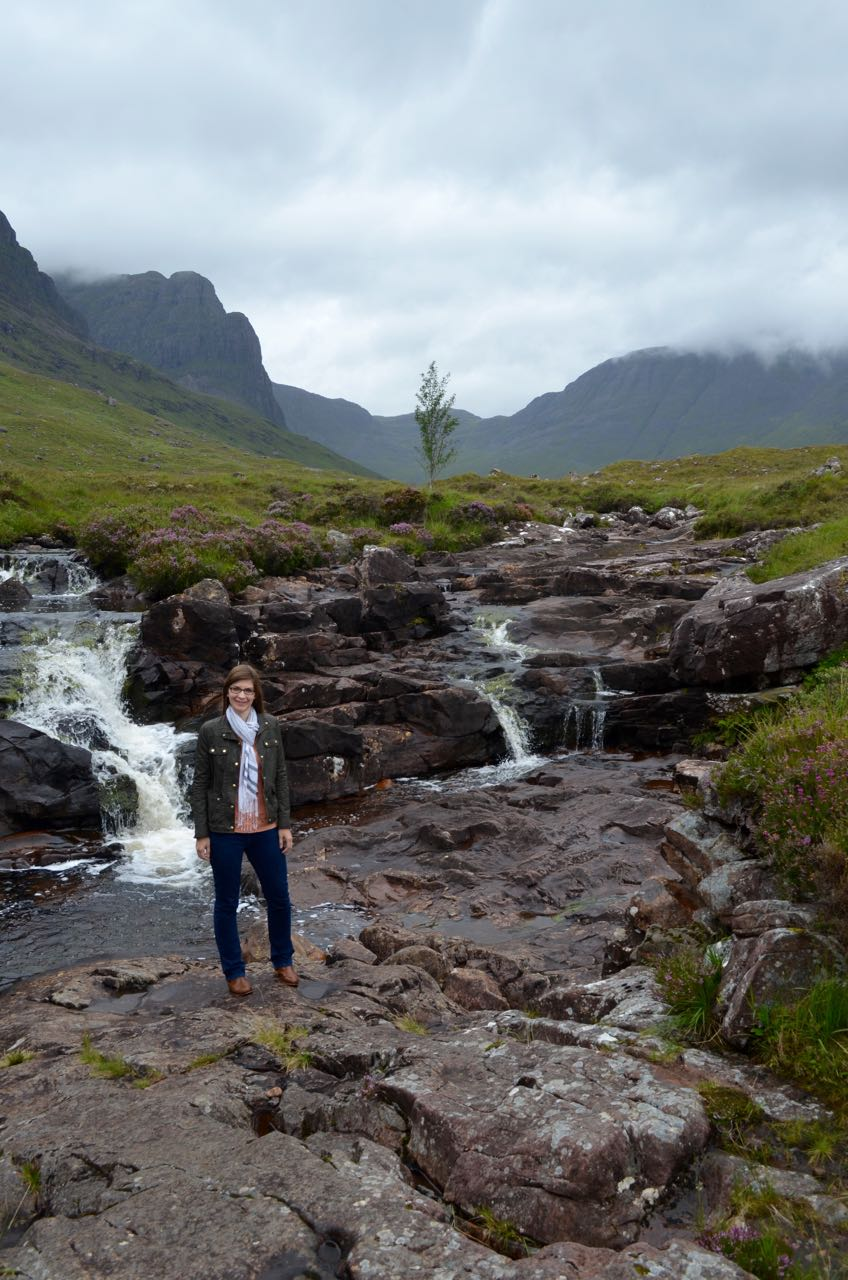 4 Days in the Scottish Highlands - Bealach na Ba road