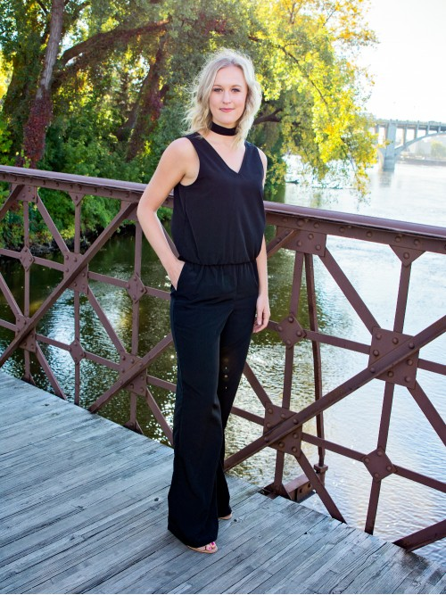 Tall clothing made in the USA - Jumpsuit from Amalli Talli