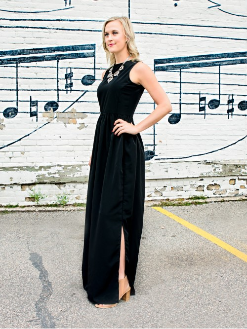 Tall Made in the USA Maxi Dress from Amalli Talli's Private Label collection