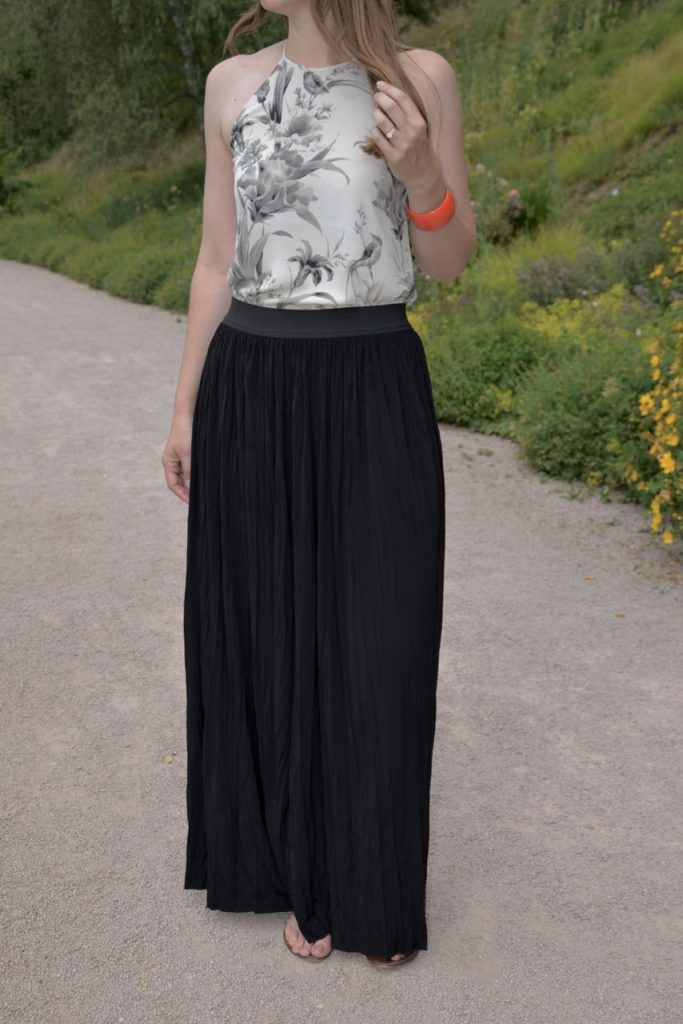 Made in the USA Talltique tall maxi skirt