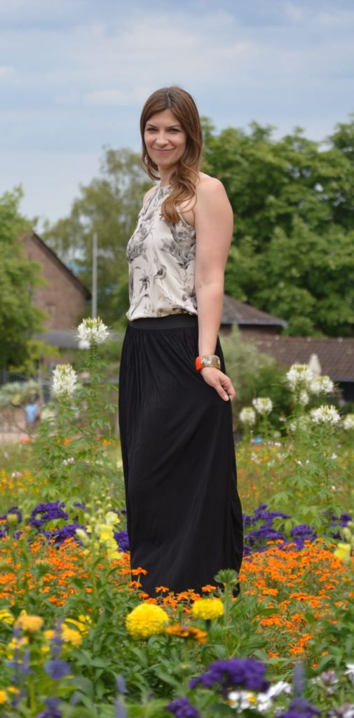Talltique Private Label maxi skirt - Made in the USA