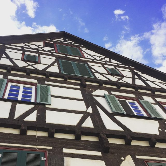Sunny skies and timbered buildings for the win! Life ishellip