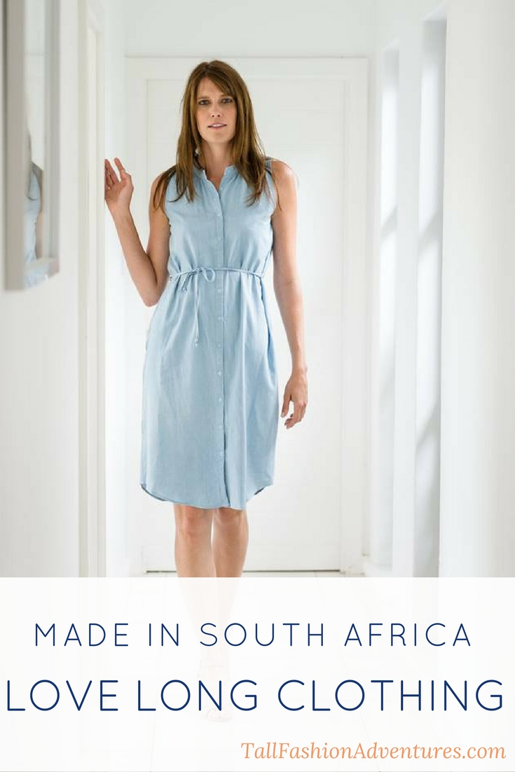Made in south africa chic tall styles from love long clothing for Made in canada dress shirts